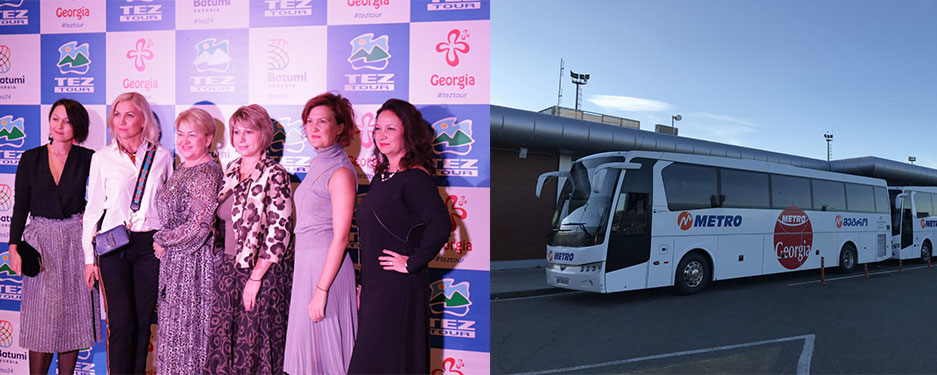 Metro Georgia provided services for the major international touristic company